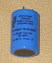 Electrolytic Capacitor FT 50x50, LCR Replacement
