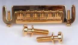 Badass Guitar Bridge Gold, GB530002