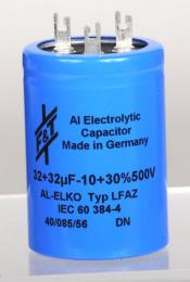 F&T LCR Capacitor, 32x32 @ 500Volts