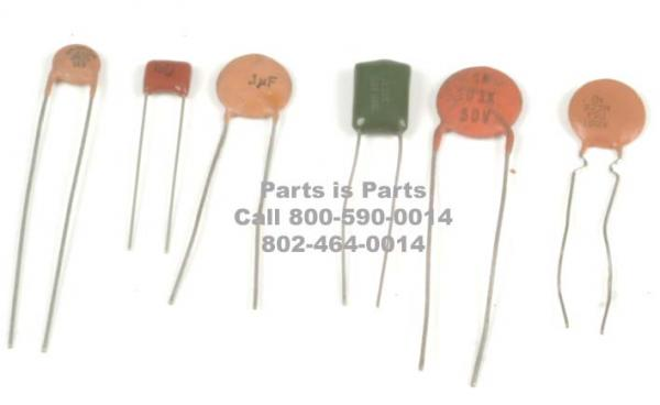 Parts of a capacitor