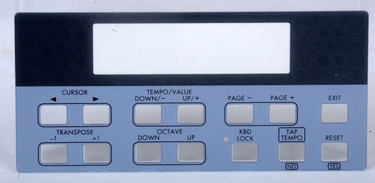Korg Panels & Case Parts   Page 2   Parts Is Parts - Guitar Parts