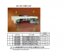 Korg RH3B Key Felt, Upper And Lower