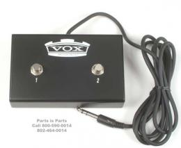 Vox Footswitch for Pathfinder, Cambridge, Nighttrain, VFS2