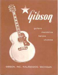 Gibson Catalog Reprint 1958 Acoustic