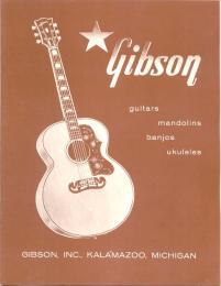 Gibson Catalog Reprint 1958 Acoustic