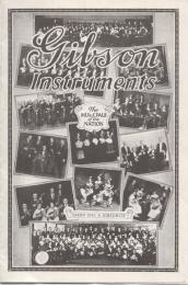 Gibson Catalog Reprint 1922
