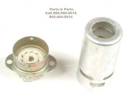 Tube Socket,  9 Pin Ceramic