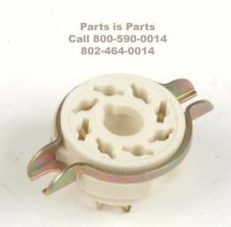 Tube Socket Octal Ceramic