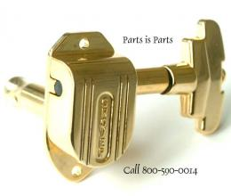 Gretsch Guitar Tuners, Grover Imperial Set Gold, TK7960