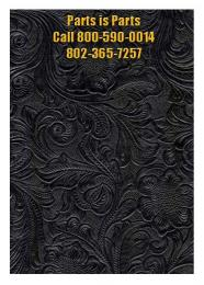 Black Western Amplifier, Cabinet,  Fabric, Covering