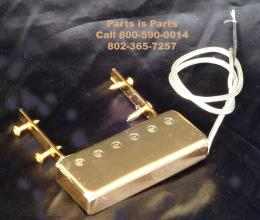 Johnny Smith Style Mini Humbucker Pickup for Jazz Guitar Gold, PU6500-002