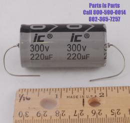 Capacitor 220uf at 300 volts IC