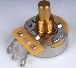 Solid Shaft 250K Audio Pot for Guitar Volume and Tone