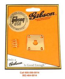 Gibson Les Paul Jack Plate Gold, PRJP-020