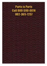 Fender Style Oxblood Grill Cloth, Speaker Covering Fabric