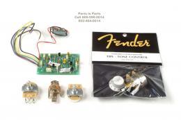 Fender Clapton Pre Amp, Mid Range Boost Kit, 0057577000