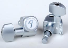 Fender Locking Tuners, Brushed Chrome, 0990818000