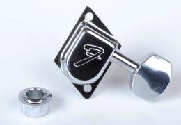 Fender 70's F Tuners, Chrome, 0990822100