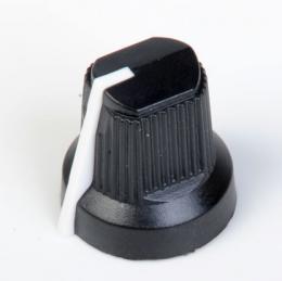 Fender Amp Knob Black Pointer, Set of 6, 0990932000