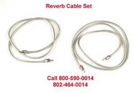 Fender Amplifier Reverb Cable Set