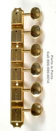 Gibson Firebird Guitar Tuners, 12 String Guitar Tuners, Kluson Tuners 6 on a Strip