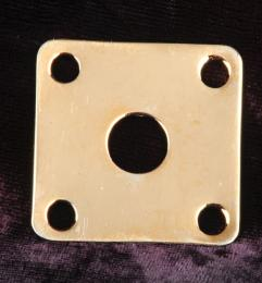 Gibson Style Jack Plate Gold, AP633