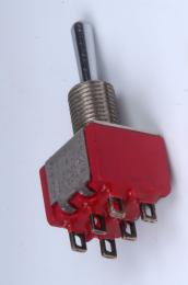 Mini Toggle Switch 3 Position, ON/ON/ON, EP080