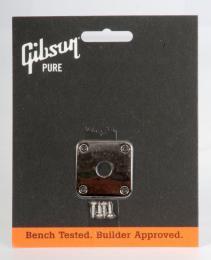 Gibson Les Paul Jack Plate Nickel , PRJP-040