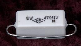 Resistor 470K 5W, RES470K5W