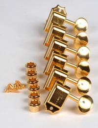 Kluson Stratocaster, Telecaster Tuning Machines, Gold, SD9105MG