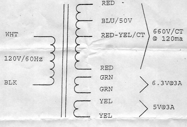 Fender Power Transformer For 65 Deluxe Reverb , 0041316000