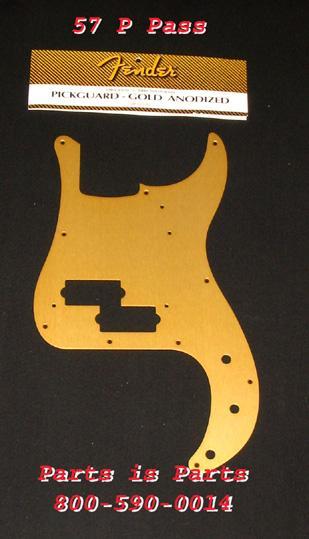 Fender Precision Bass Pickguard Gold Anodized, 0992020000